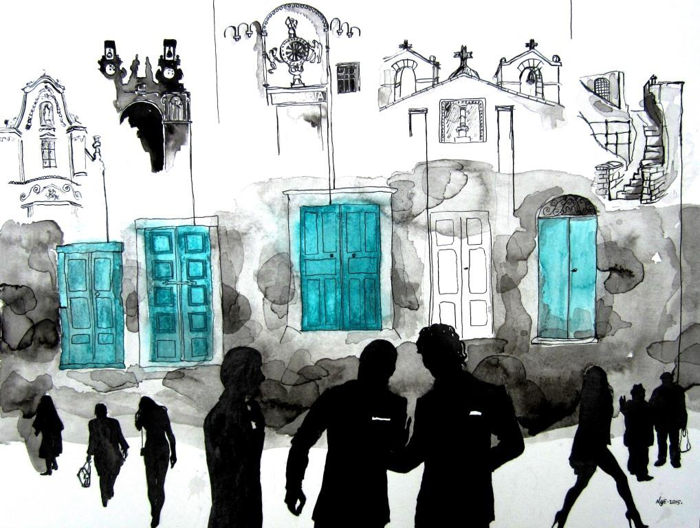 Matera's doors