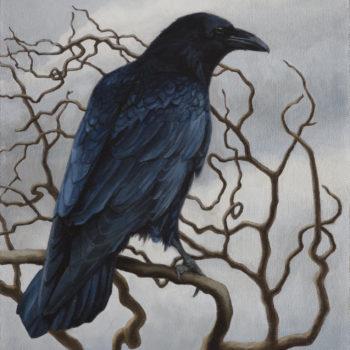 Teoksen nimi: Puu, johon ei kasvanut lehtiä (sarjasta Syksy on sitä kun kesä tulee hulluksi)