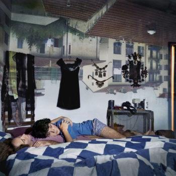Teoksen nimi: Camera obscura/ Alessandra & Nathan, Firenze, Italia, 1999