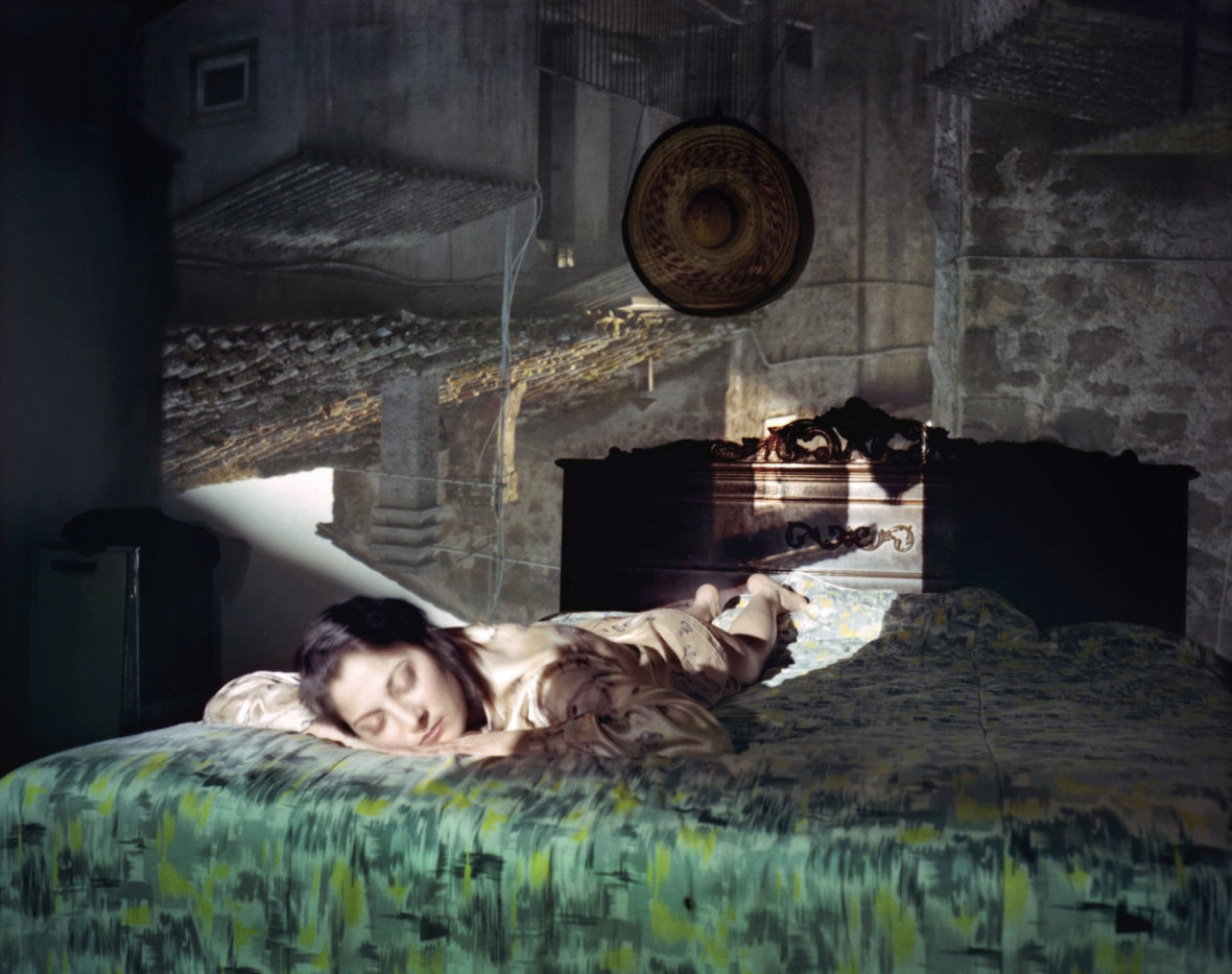 Camera obscura/ Mariana, Mazzano Romano, Italia, 1999