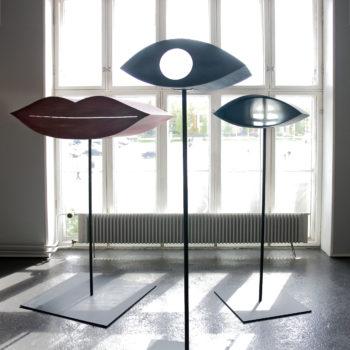 Teoksen nimi: Camera obscura / Silmät ja suu, 2006