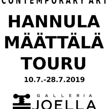 Teoksen nimi: Näyttelykutsu; Galleria Joella, 2019