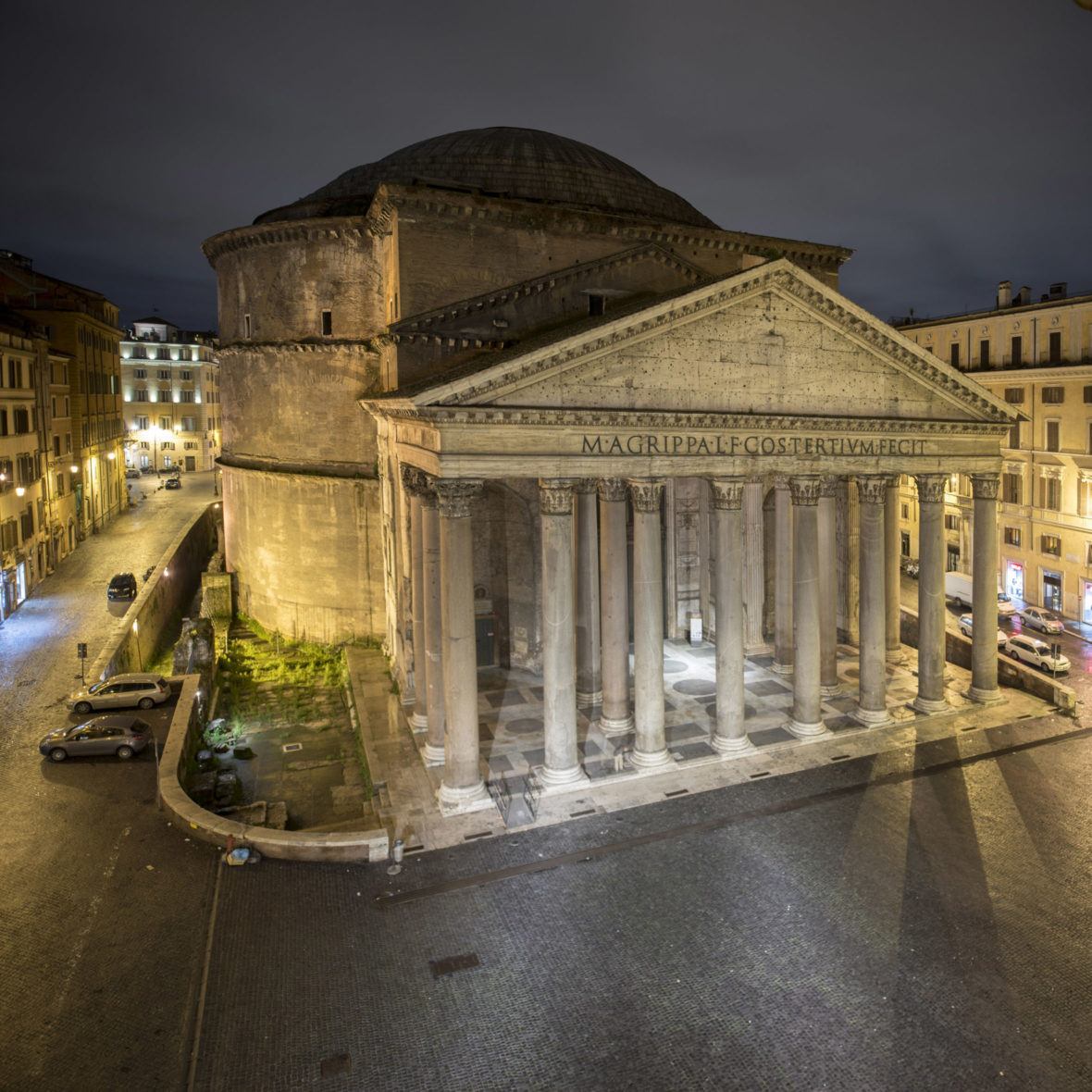 Panteheon, Roma (luonnos / draft )
