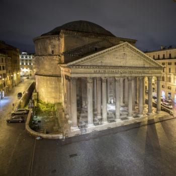 Teoksen nimi: Panteheon, Roma (luonnos / draft )