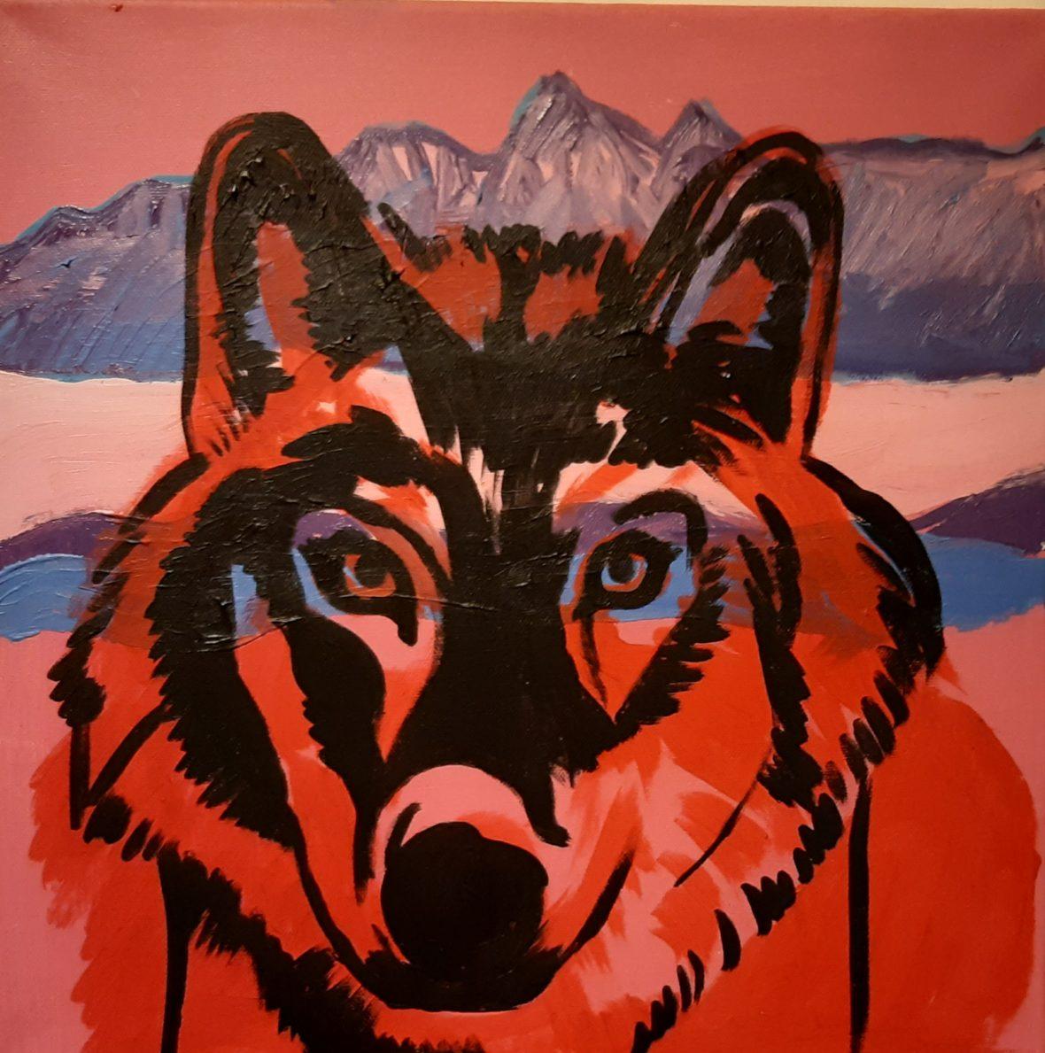 Punainen susi
