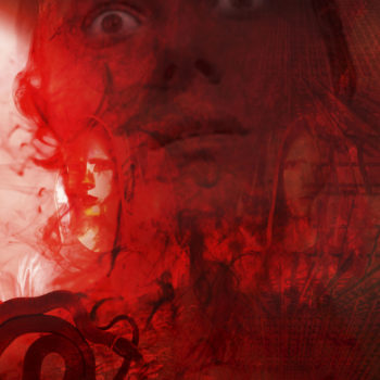 Teoksen nimi: The Red Night I / Punainen yö I