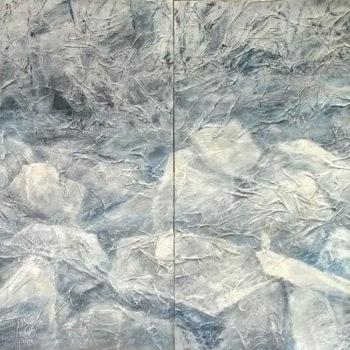 Teoksen nimi: JÄIDENLÄHTÖ – ICE  DRIFT