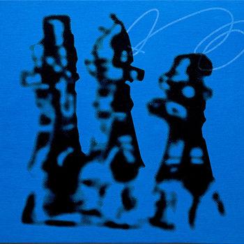 Teoksen nimi: Tarunomaisten kilpataistelijoiden torsot nousivat sinisestä pilvestä
