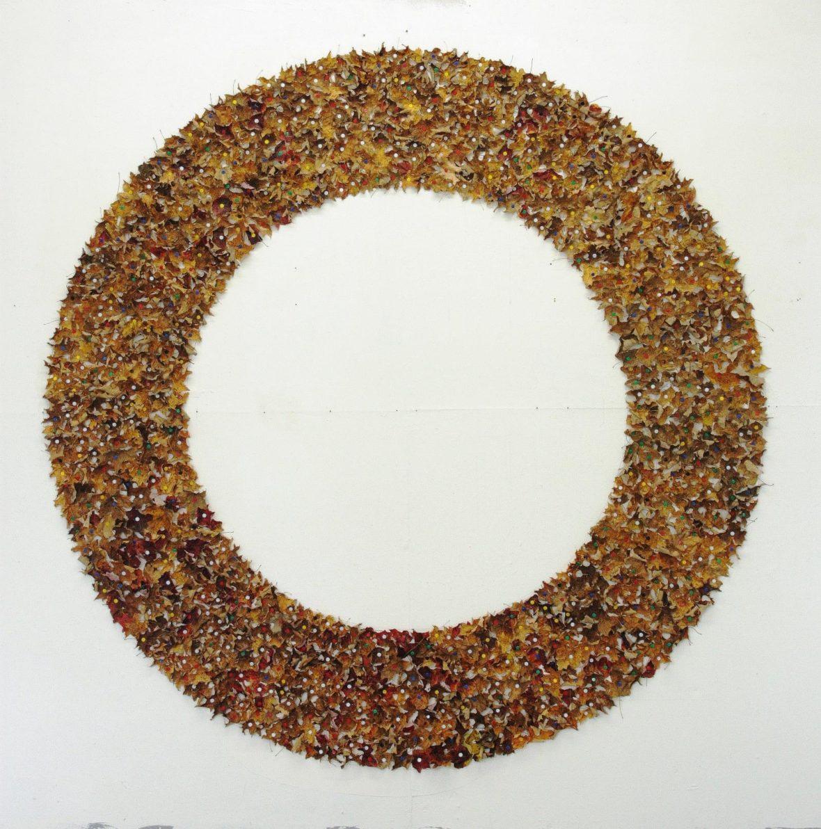 Lehtiympyrä,   Leaf circle