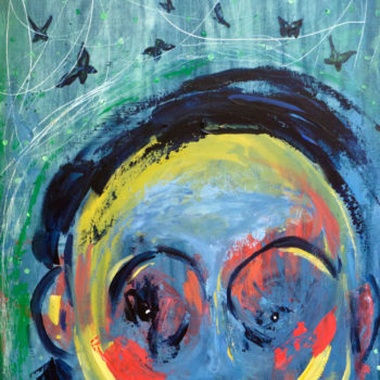 Name of the work: Flying Mind