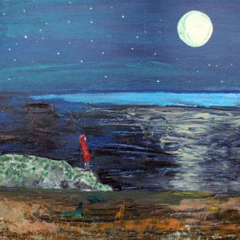 Teoksen nimi: Wandering Moon