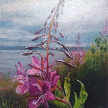 Name of the work: Rantahorsma/ Fireweed