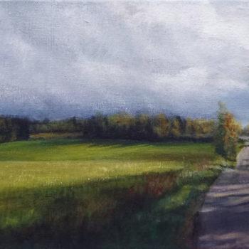 Teoksen nimi: Iloniementie/ Road from Iloniemi