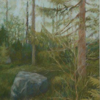 Teoksen nimi: Metsässä III