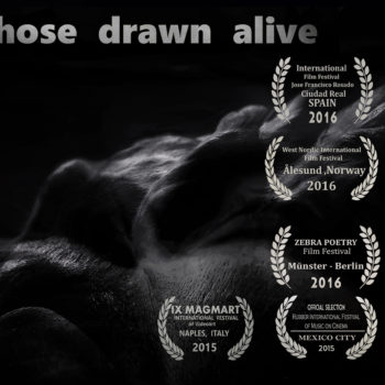 "Teoksen nimi: ""Those Drawn Alive "", experimental shortfilm , 2015"