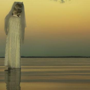 """Teoksen nimi: """"Tuohinen, kaukopartiomies"""", kokeellinen lyhytfilmi, 2014"""
