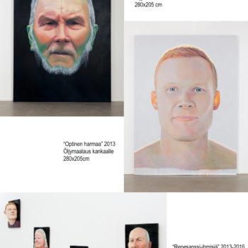 Teoksen nimi: Galleria G näyttelyteoksia 2017