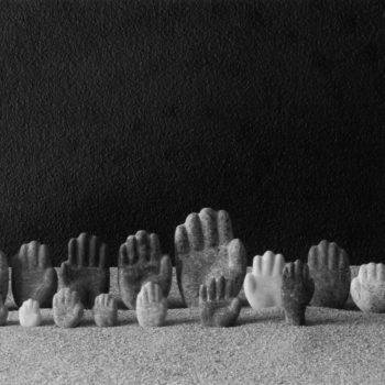 Teoksen nimi: Kädet