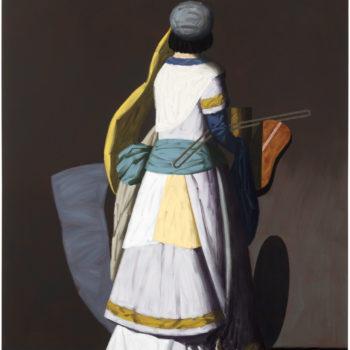 Teoksen nimi: Konsertto II, 2017, öljy kankaalle, 204 x 170 cm