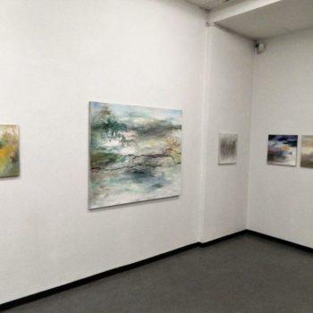 Teoksen nimi: Näyttelykuva / Matkalla maisemassa, Galleria Uusi Kipinä 2013