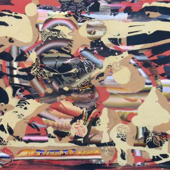 Teoksen nimi: Kipinämikko 2010, 103×140