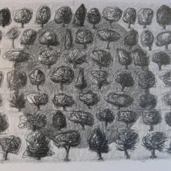 Teoksen nimi: 64 puuta / 64 träd