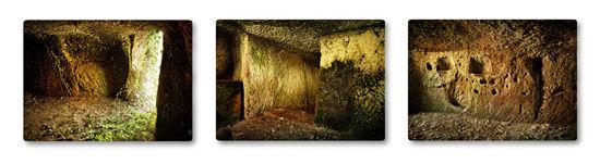Unohdettu etruskiluola I-III, Mazzano Romano