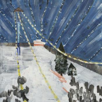 Teoksen nimi: Dubai Ski