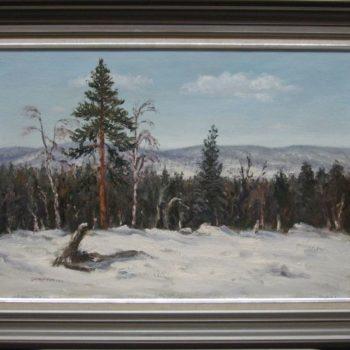 Teoksen nimi: Ivalon talvea