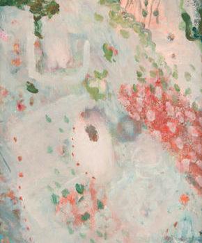 Teoksen nimi: Omenankukkien huntu