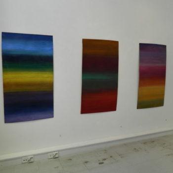 Teoksen nimi: Näyttelykuva / Hiljaiset tilat,  Galleria Katariinan Studio 2016