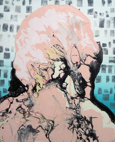 Untitled, 2007, acrylic on canvas, 40×50 cm