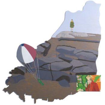 Teoksen nimi: Enimmäkseen saarella; Hisingen