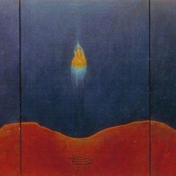 Teoksen nimi: Yön salat, öljymaalaus