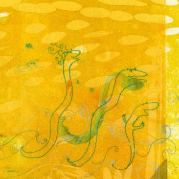 Teoksen nimi: Merikäärmeet näkevät ihmeen