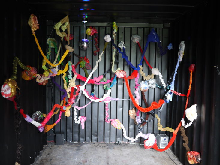 Yhtä juhlaa -ääni-installaatio, 2012