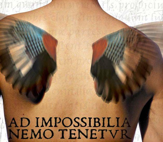 Ad impossibilia nemo tenetur – ketään ei velvoiteta mahdottomiin