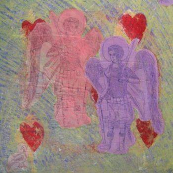 Teoksen nimi: Arkkienkeli Mikaelin sydämen matka
