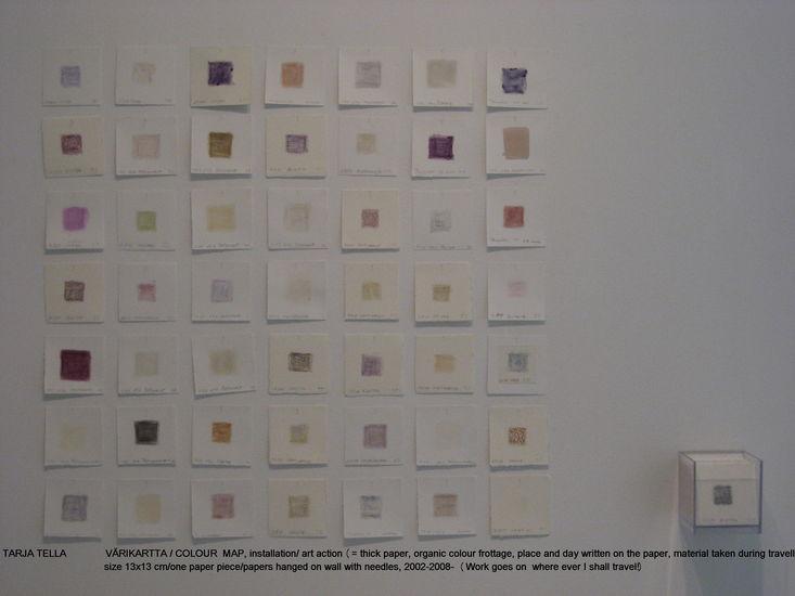 Värikartta; Imatran taidemuseo 2008