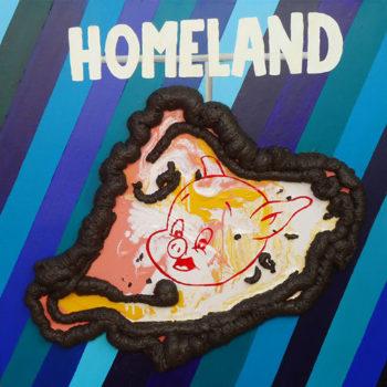 Teoksen nimi: (Shit and Pig) Homeland
