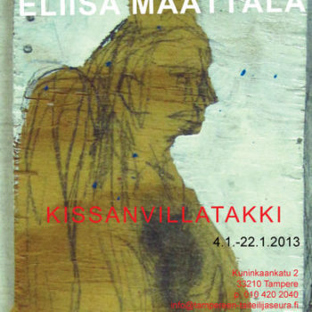 Name of the work: näyttelyjuliste-kissanvillatakki 2013