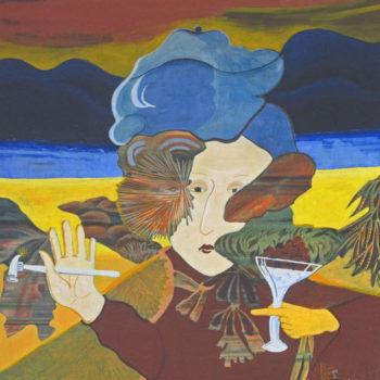 Name of the work: Kuvanveistäjän muotokuva 1988-89