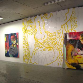 Teoksen nimi: Installaatio, Hybridit I, Galleria Huuto 2016