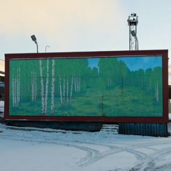 Name of the work: Sarjasta Kaipauksen maisemia (Barentsburg)