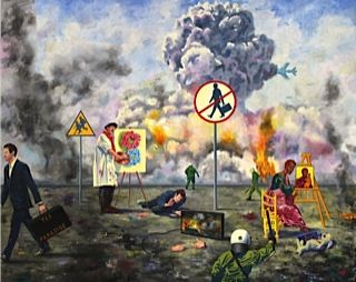 Name of the work: Artist´s (and anybody´s) dilemma