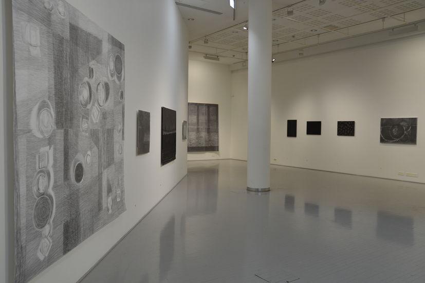 Tilakuva näyttelystä / The view of the exhibition, tm.gallery, 2015, helsinki