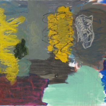 Teoksen nimi: L´Énigme d´un après-midi, 2013, öljy kankaalle, 160×200