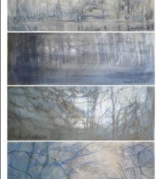 """Teoksen nimi: """"Neljä päivää"""", neljä erillistä osaa, 2010"""