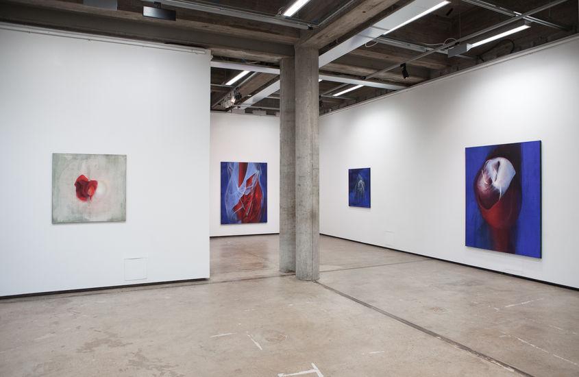 Näyttelykuva Galleria Aarnista, 2013