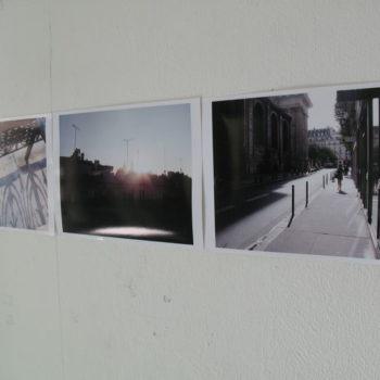 Teoksen nimi: Fenêtre sur Paris, 2014 – 2016